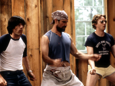 Wet Hot American Summer, A.D. Miles, ... | WHAT IT'S ABOUT Welcome to 1981 and the last day at Camp Firewood, where the counselors (including Michael Showalter and A.D. Miles, above left and…