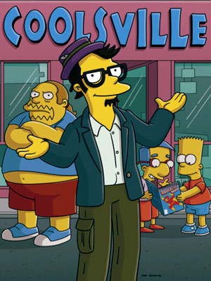 Jack Black, The Simpsons | THE CHARACTER Milo (from ''Husbands and Knives,'' 2008) Wolverine, Philip K. Dick, and Galactus are all name-checked in the first five minutes of this geek-tastic…