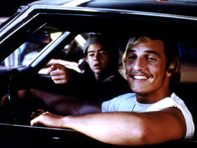 Dazed And Confused, Matthew McConaughey, ... | There's a nostalgic ode to Me Decade teendom to be found somewhere amid Richard Linklater's primer on freshman paddling, trashcan tipping, parent duping, spliff toking,…