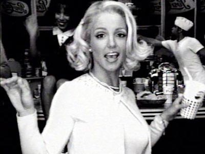 Britney Spears | SODA POP Britney briefly joined the sweater set for a 2002 Pepsi Super Bowl ad that placed her in various eras, from the '50s to…