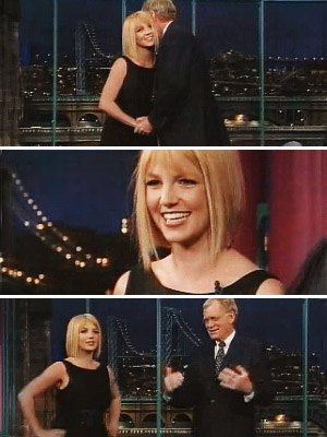 THE 'NIGHT' BEFORE Just a day before filing for divorce from Federline, Spears popped up on the Late Show With David Letterman wearing a form-flattering…