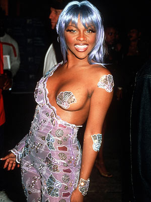 Lil' Kim | Breast in Show Before her year in prison for lying under oath, the pint-sized rapper wore this technically street-legal unitard to the ceremony. Hooray for…