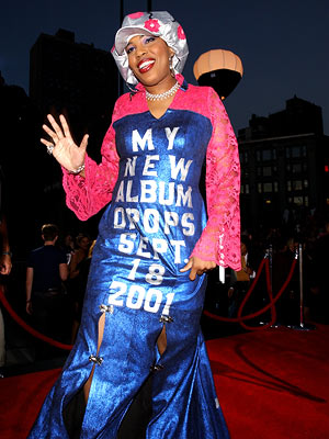Macy Gray | Fashion Statement Sure, this ensemble may appear to have an expiration date, but a quick trip to the hardware store for duct tape can extend…