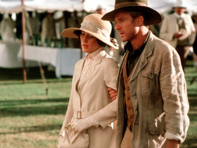 Meryl Streep, Out of Africa | For some (i.e., for me) it's all about the shampooing scene where Streep, as the real-life Danish baroness Karen Blixen (who lived in Kenya and…