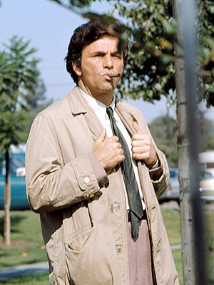 Columbo, Peter Falk | One of the best-acted, best-written, most-loved TV shows ever never won an Outstanding Drama Emmy? Seems impossible doesn't it? Thank goodness Peter Falk won (five…