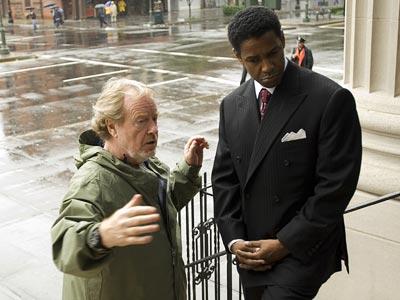 Ridley Scott, Denzel Washington, ...