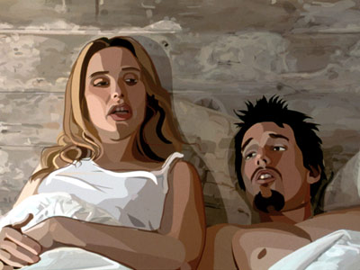 Waking Life, Ethan Hawke, ... | Like some of Richard Linklater's other work, particularly Slacker and Before Sunrise / set , the rotoscoped Waking Life is a talky, stream-of-consciousness tour through…