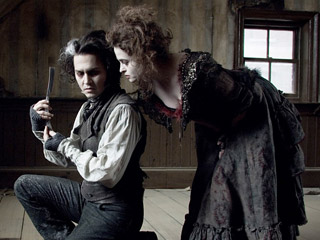 Johnny Depp, Helena Bonham Carter, ...