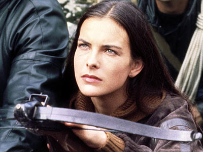 For Your Eyes Only, Carole Bouquet | As the quintessential Bond girl-with-a-vengeance, she never smiles or says much as she gets even for the murder of her parents with a little crossbow…