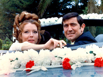 On Her Majesty's Secret Service, Diana Rigg | As it happened, Rigg replaced fellow Bond Girl Honor Blackman on TV's The Avengers , where her Emma Peel became renowned as the toughest of…