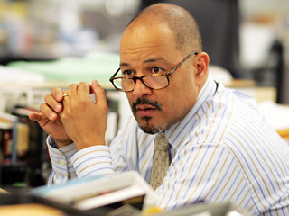 Clark Johnson, The Wire