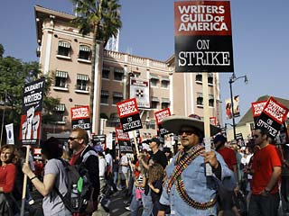 WGA Strike 2007