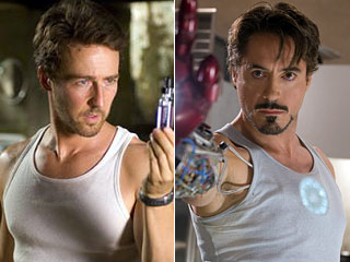 Edward Norton, Robert Downey Jr.