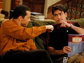 Jon Cryer, Charlie Sheen, ...