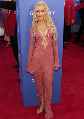 Christina Aguilera | Elvira Jr. didn't exactly mop up the competition that night. But that fringed atrocity could have done a number on the floor.