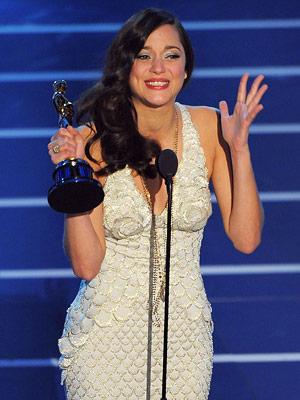 Marion Cotillard, Oscars 2008