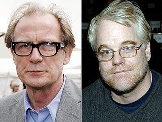 Bill Nighy, Philip Seymour Hoffman