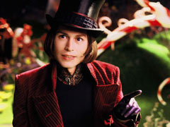 Johnny Depp, Charlie and the Chocolate Factory