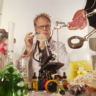 TV Shows: Good Eats , Iron Chef America , Feasting on Waves If only all science classes tasted so good: Brown is like the Bill…