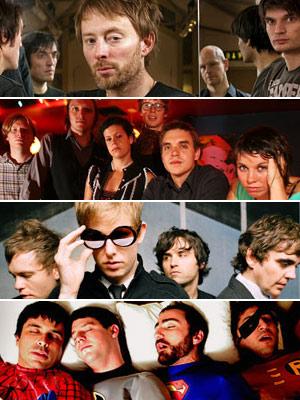 Radiohead, Spoon, ...