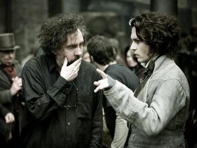 Tim Burton, Johnny Depp, ...