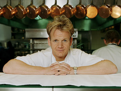 Gordon Ramsay | TV Show: Hell's Kitchen , Kitchen Nightmares The Scottish chef may be cranky as hell, but it makes for pure entertainment gold when would-be chefs…