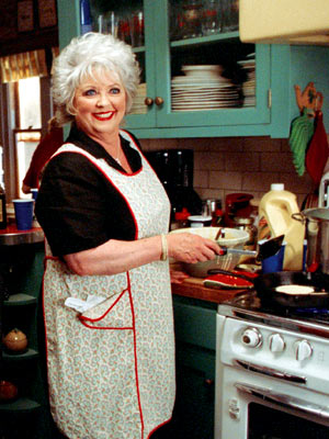 Paula Deen | TV Show: Paula's Home Cooking , Paula's Party , Paula's Best Dishes Perhaps it shouldn't be surprising that this Southern Belle remedies homesickness better than…