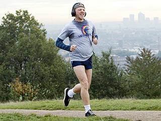 Run Fat Boy Run, Simon Pegg