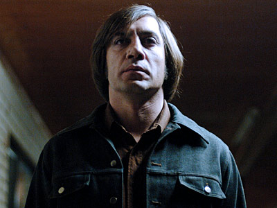 No Country for Old Men, Javier Bardem | ANTON CHIGURH (Javier Bardem) No Country for Old Men Not since Predator has a super-villain pulled off such a ridiculous hairstyle. Oddly enough, though, Chigurh's…