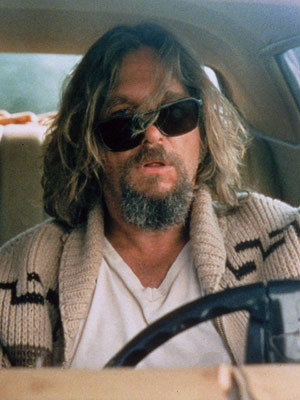 Jeff Bridges, The Big Lebowski | The Dude (Jeff Bridges) is the greatest stoner in the history of film because the Dude abides, dude.