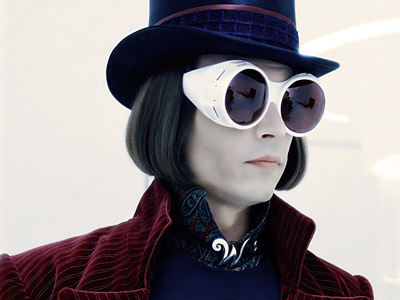 Johnny Depp, Charlie and the Chocolate Factory | WILLY WONKA (Johnny Depp) Charlier and the Chocolate Factory As if Willy Wonka's high-pitched voice and penchant for punishing children wasn't freaky enough, his chin-length…