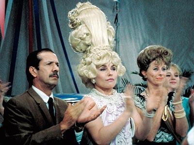Sonny Bono, Deborah Harry, ... | VELMA VON TUSSLE (Deborah Harry) Hairspray And you thought Dennis Hopper in Speed was crafty. The bad girl of John Waters' 1988 camp film used…
