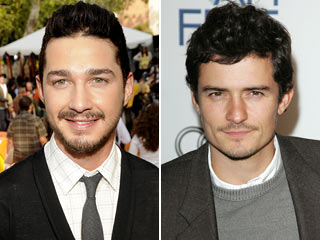 Shia LaBeouf, Orlando Bloom