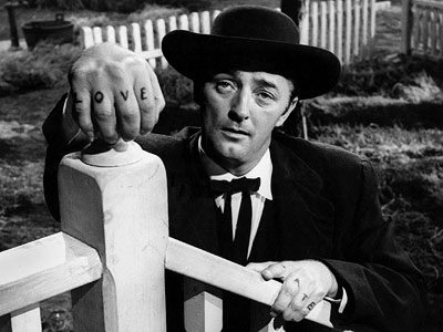 Robert Mitchum, The Night of the Hunter