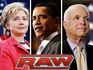 John McCain, Barack Obama, ...