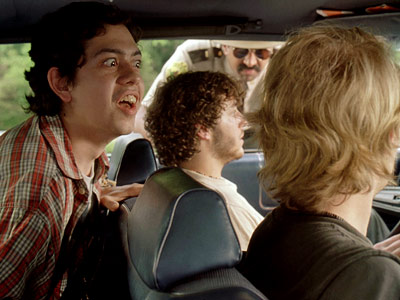 Joey Kern, Jay Chandrasekhar, ... | A highway-patrol pot caper involving a bear costume, syrup-drinking contests, and an Afghan cartoon monkey carrying coded Taliban messages. Come to think of it, this…