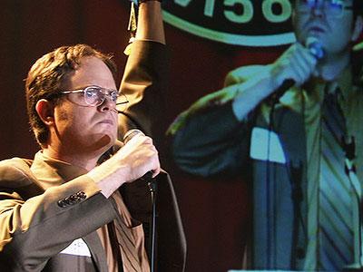 Rainn Wilson, The Office | (''Dwight's Speech,'' Season 2, Episode 17) When Dwight receives the highest honor that a Northeastern Pennsylvania-based midsize paper company regional salesman can attain, Salesman of…