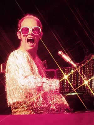 Elton John | Elton John Homage to not one but two '70s summertime pastimes — Philly soul and tennis. Who said Sir Elton wasn't shrewd?