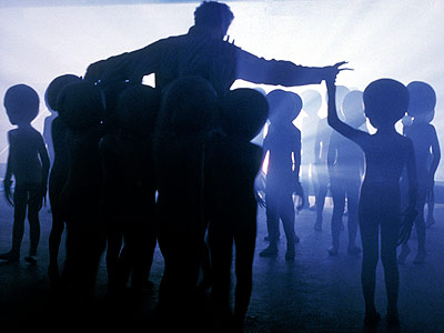 Close Encounters of the Third Kind, Richard Dreyfuss   Close Encounters of the Third Kind (1977) I LOATHE Close Encounters . It is the WORST. It makes me want to scratch my eyeballs out…