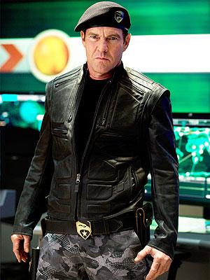Dennis Quaid, G.I. Joe: The Rise of Cobra