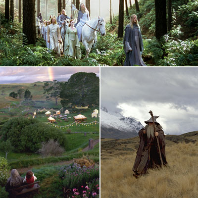 The Lord of the Rings: The Fellowship of the Ring | Middle-earth Fancy a road trip? Start things off with the happy little folk of Hobbiton, and then head inland towards the mountains for a visit…