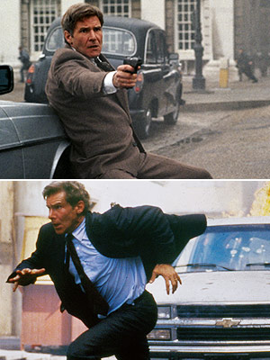 Harrison Ford, Patriot Games, ...