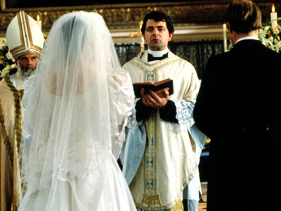 Rowan Atkinson, Four Weddings and a Funeral