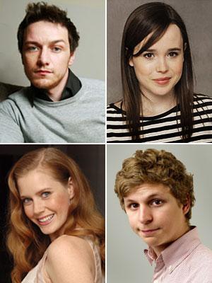 Ellen Page, James McAvoy, ...