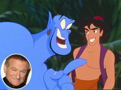 Robin Williams, Aladdin
