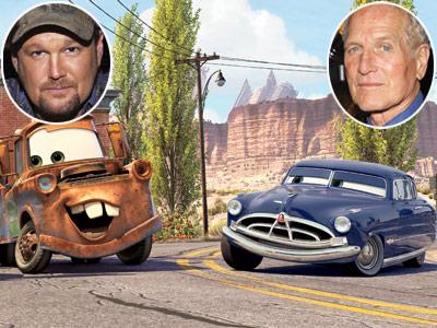 Paul Newman, Cars, ...