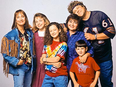 Roseanne Barr, John Goodman, ...