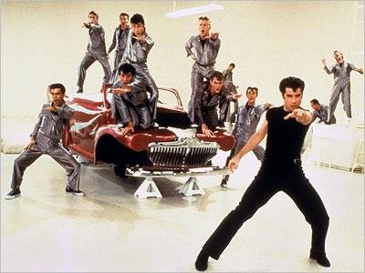 John Travolta, Grease