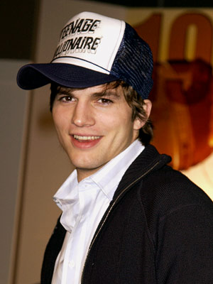 Ashton Kutcher | Could the Punk'd maestro's biggest prank have been getting legions of hipsters to adopt the mesh-and-foam chapeaus of their fathers?