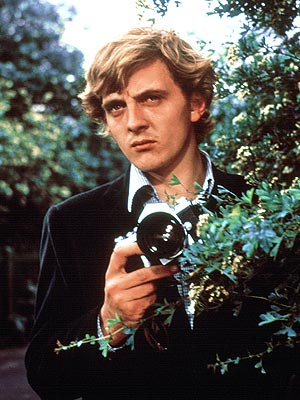 David Hemmings, Blowup | One of Coppola's major inspirations for The Conversation was this film from Italy's Michaelangelo Antonioni, in which a photographer thinks he might have inadvertently captured…